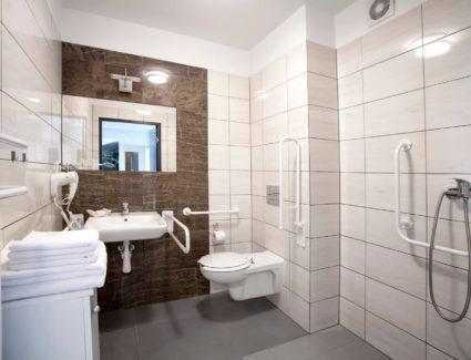 łazienka w apartamencie nr 2