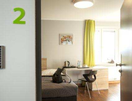 wejście do apartamentu nr 2