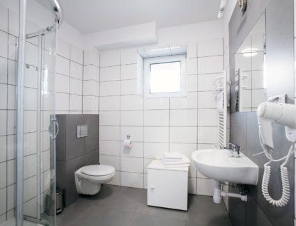 łazienka w apartamencie nr 4