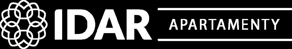 idarapartamenty logo białe
